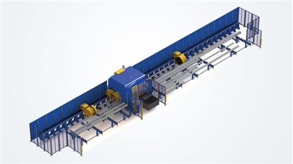 Automatic loading and unloading of pipes and profiles_MicroStepSA
