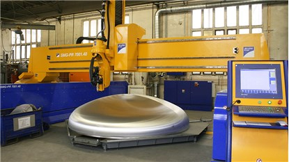 Dome Cutting - Machinery construction methods