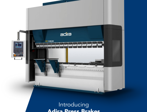 Introducing Adira Pressbrakes. MicroStep offers Complete Solutions