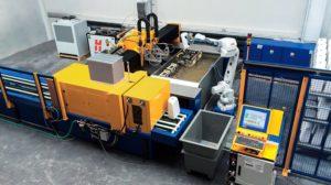 Waterjet Robot Line