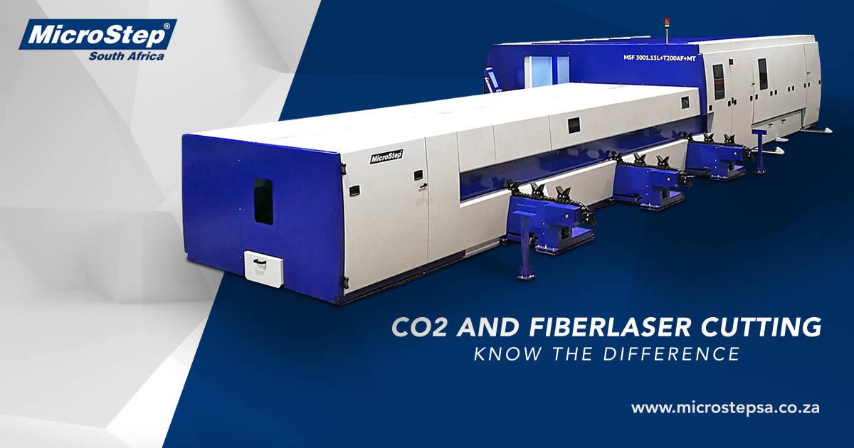 co2 vs fiber laser cutting | Microstep
