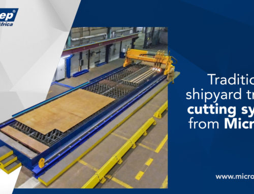 Traditional shipyard trusts in cutting systems from MicroStep